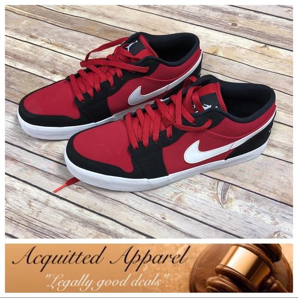 quality design 09d26 840af  Nike  NIB Air Jordan V.2 LTR Low Red Black